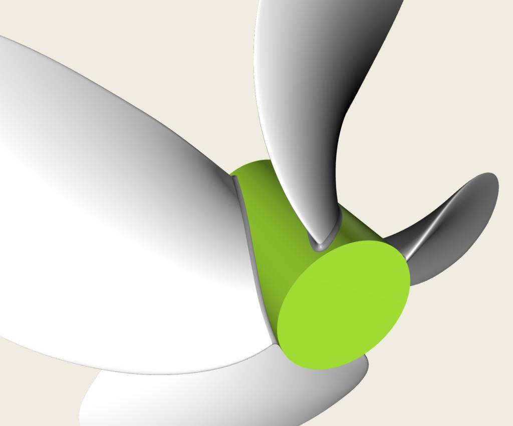 wageningen propeller view